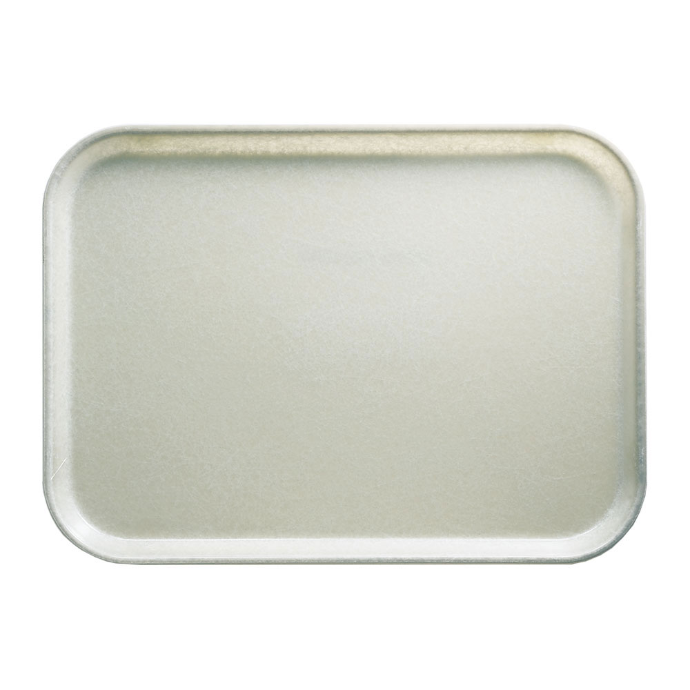 "Cambro 1014101 Rectangular Camtray - 10-5/8x13-3/4"" Antique Parchment"