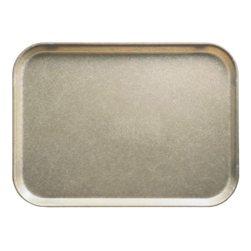 """Cambro 1014104 Rectangular Camtray - 10-5/8x13-3/4"""" Desert Tan"""