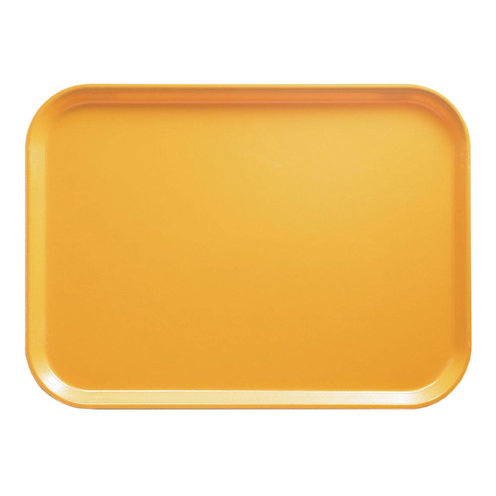 """Cambro 1014171 Rectangular Camtray - 10-5/8x13-3/4"""" Tuscan Gold"""