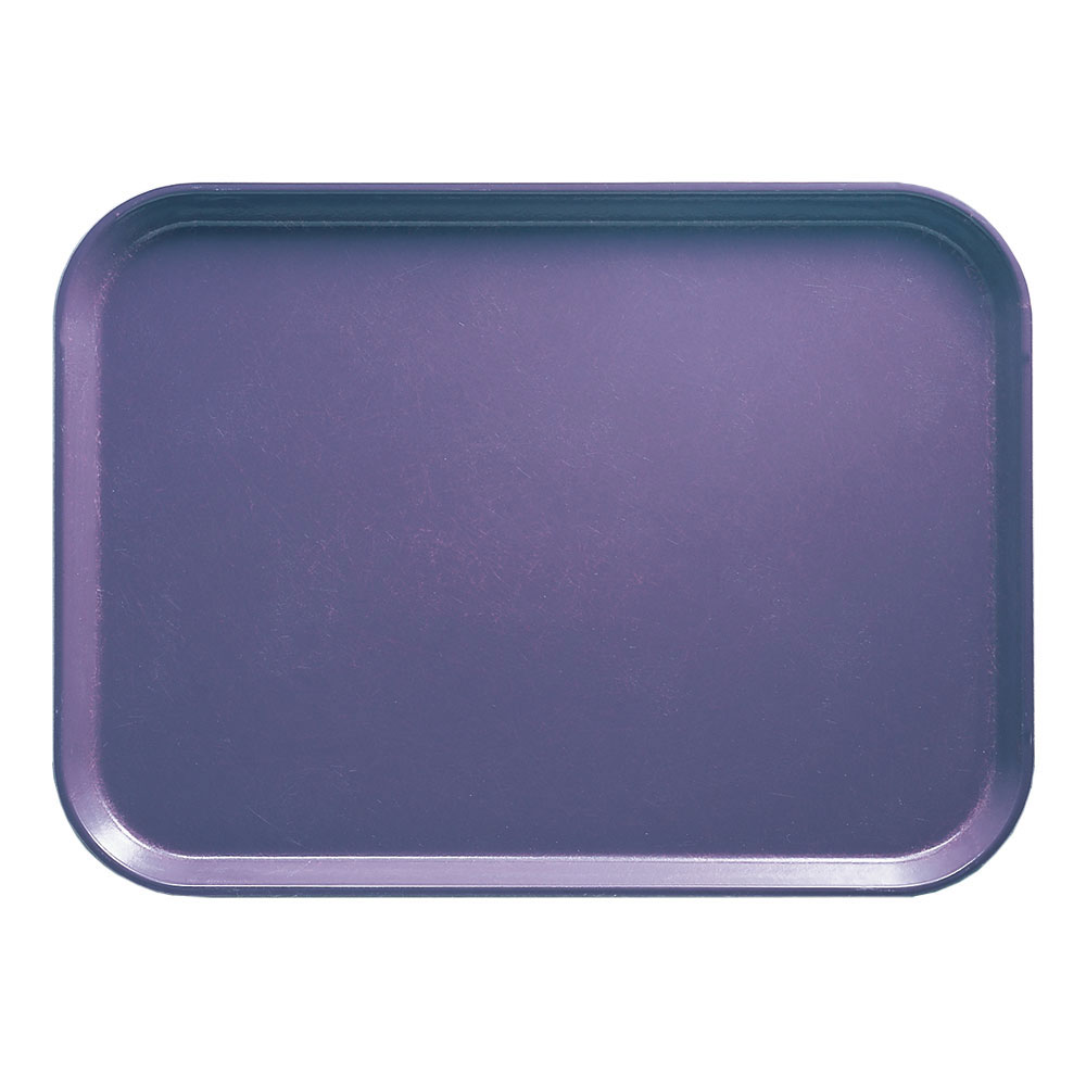 "Cambro 1014551 Rectangular Camtray - 10-5/8x13-3/4"" Grape"