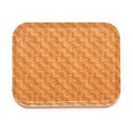 "Cambro 1015302 Rectangular Camtray Insert - 10-1/8x15"" Light Basket Weave"