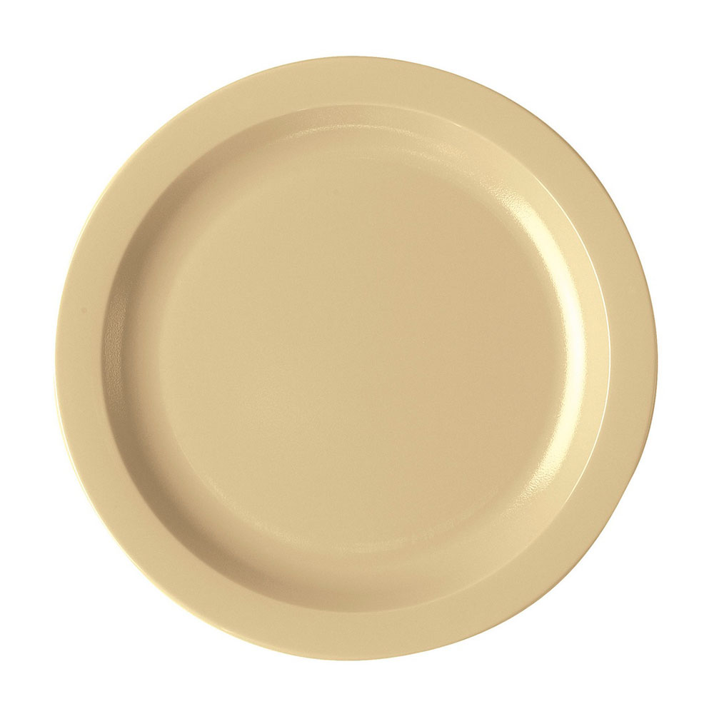 "Cambro 10CWNR133 10"" Camwear Plate - Beige"