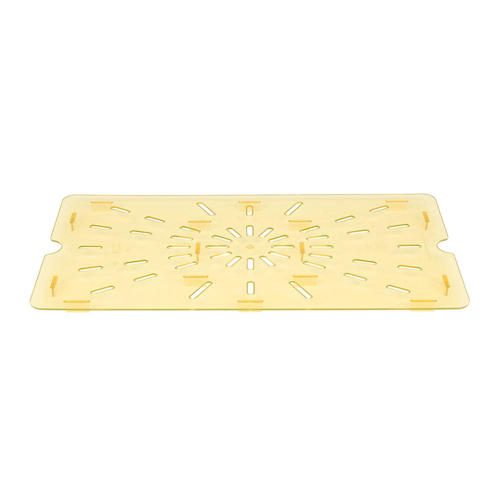 Cambro 10HPD150 H-Pan Drain Shelf - Full-Size, Amber