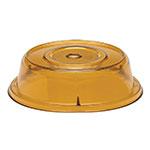 "Cambro 1101CW153 11"" Camwear Plate Cover - Amber"