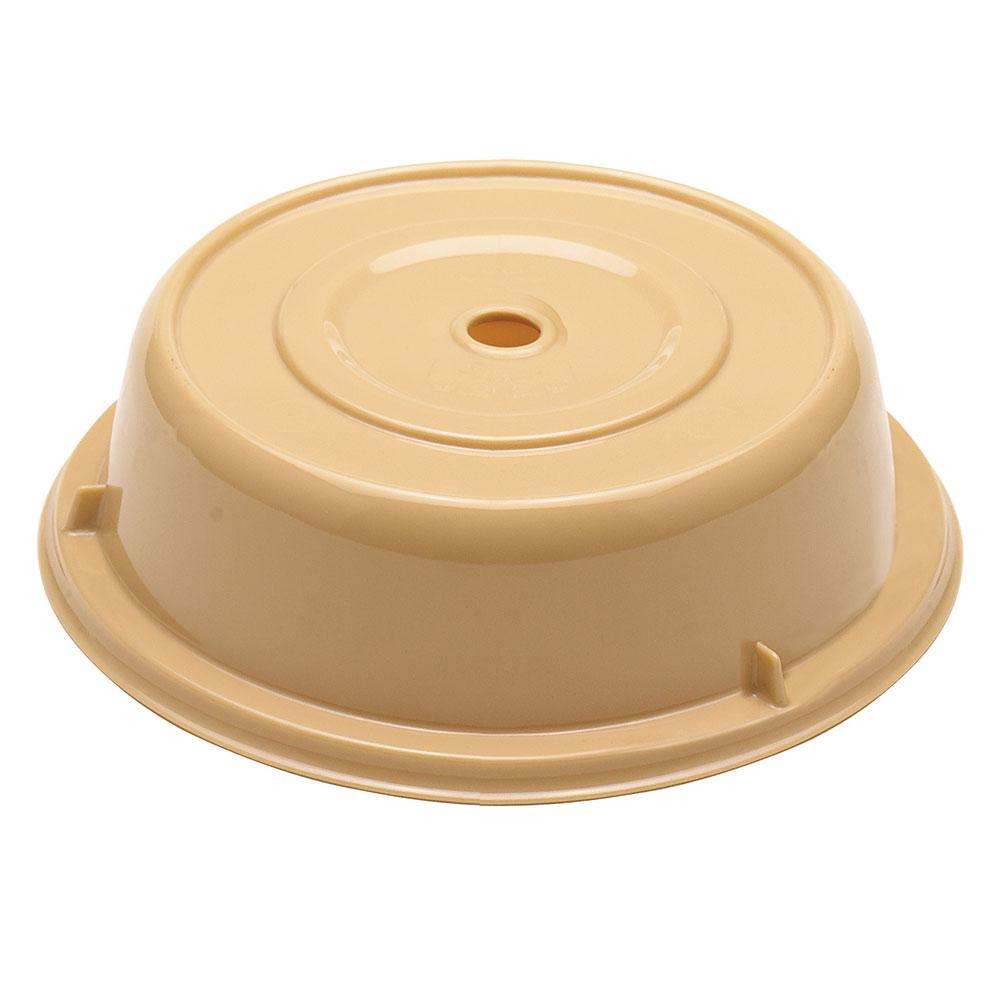 "Cambro 1202CW133 12-1/8"" Camwear Plate Cover - Beige"