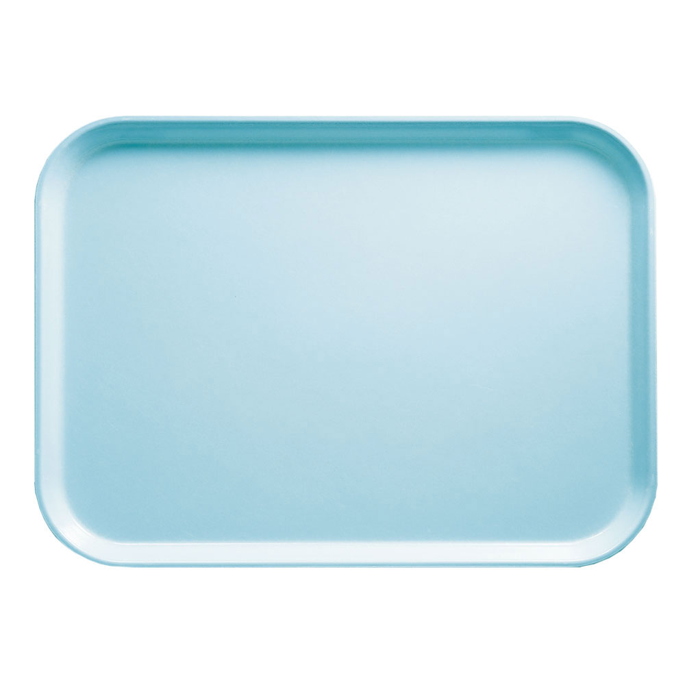 "Cambro 1216177 Rectangular Camtray - 12x17"" Sky Blue"