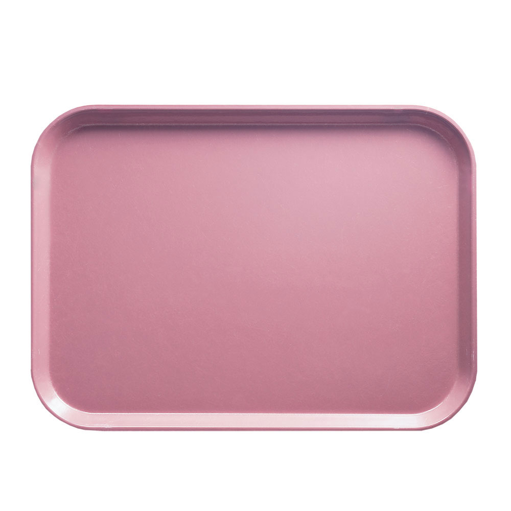 "Cambro 1216409 Rectangular Camtray - 12x17"" Blush"