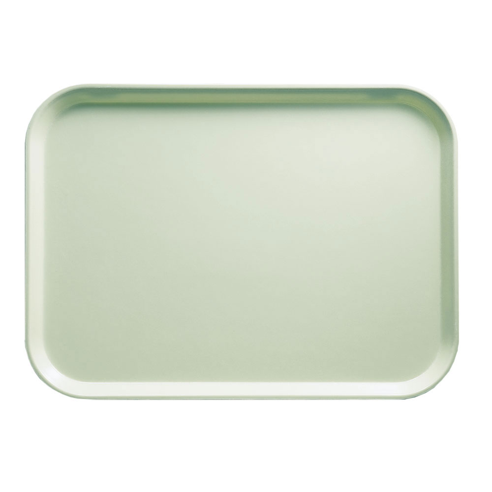 "Cambro 1216429 Rectangular Camtray - 12x17"" Key Lime"