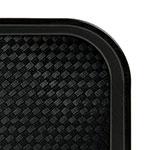 "Cambro 1216FF110 Rectangular Fast Food Tray - 12x16-1/8"" Black"