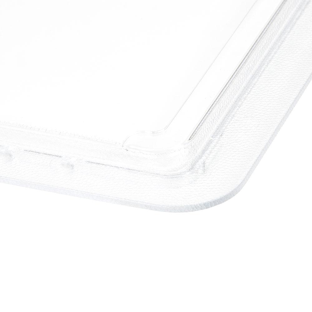 "Cambro 1218SCCW135 Camwear SlidingLid - 12x18"" Clear"