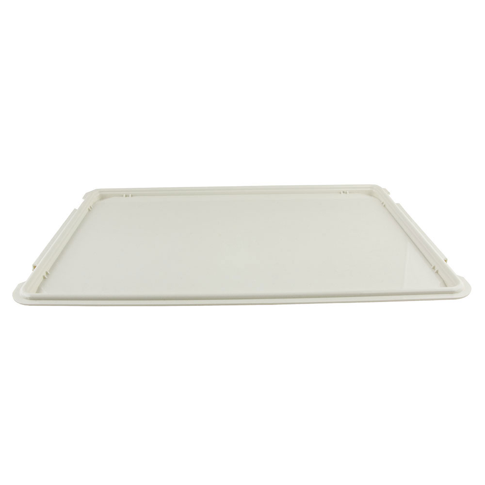 "Cambro 1222D148 Rectangular Dietary Tray - For Patient Feeding, 12x22"" White"