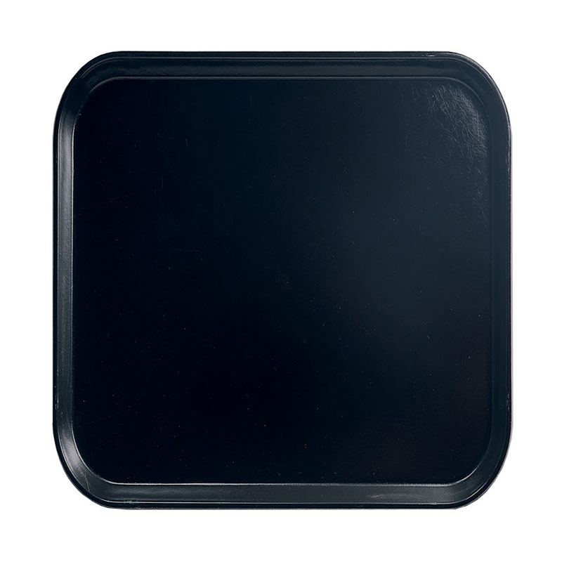 Cambro 1313110 33cm Square Serving Camtray - Black