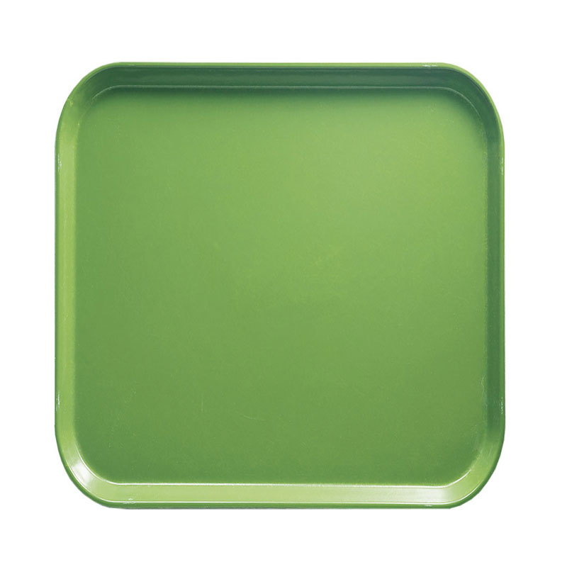 Cambro 1313113 33cm Square Serving Camtray - Limeade