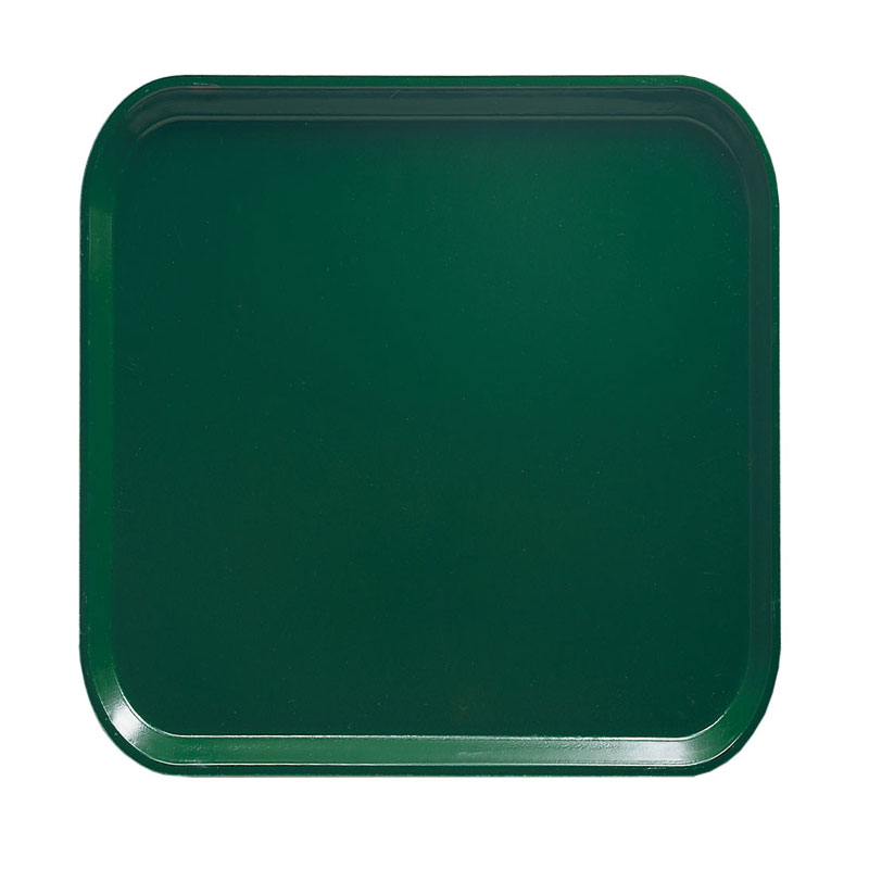 Cambro 1313119 33cm Square Serving Camtray - Sherwood Green