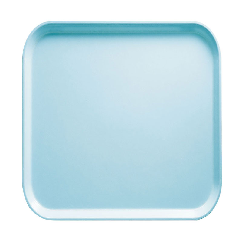 Cambro 1313177 33cm Square Serving Camtray - Sky Blue