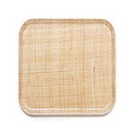 Cambro 1313204 33cm Square Serving Camtray - Rattan