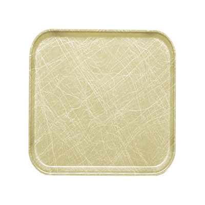 Cambro 1313214 33cm Square Serving Camtray - Abstract Tan