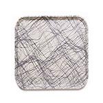 Cambro 1313277 33cm Square Serving Camtray - Swirl Gray