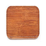 Cambro 1313309 33cm Square Serving Camtray - Java Teak