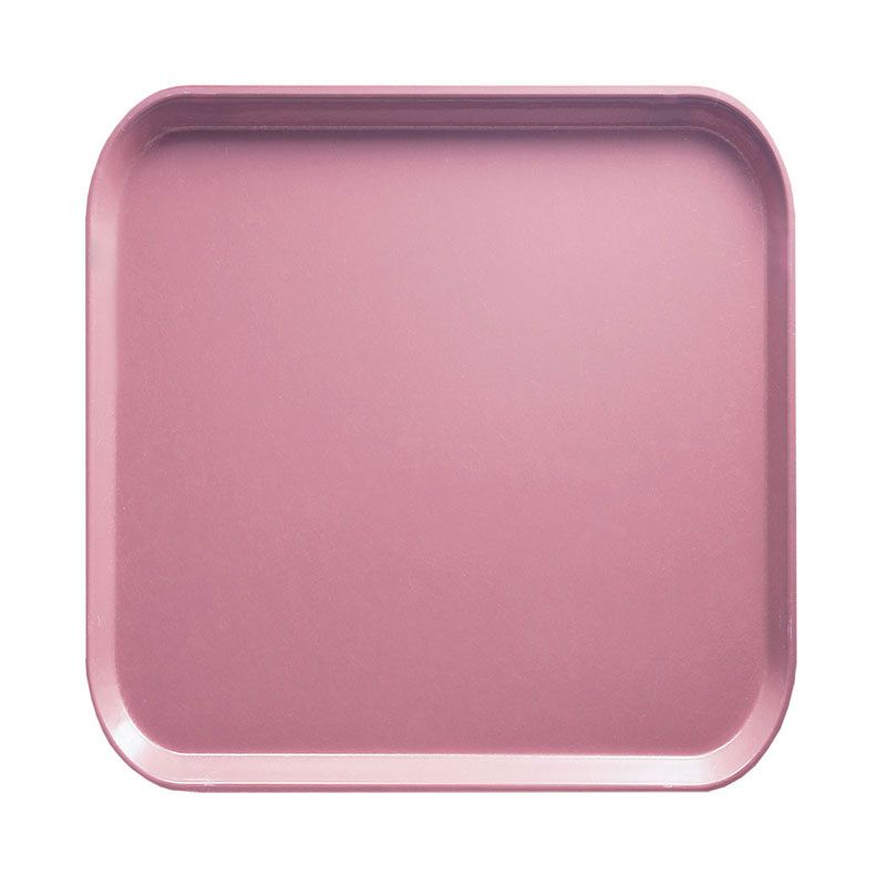Cambro 1313409 33cm Square Serving Camtray - Blush