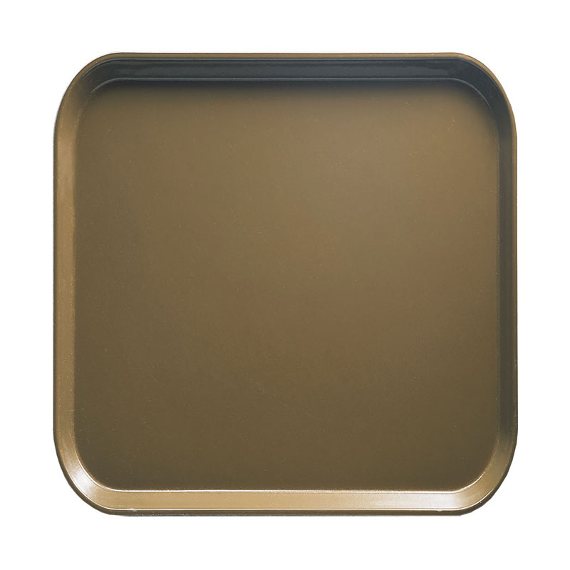 Cambro 1313513 33cm Square Serving Camtray - Bay Leaf Brown