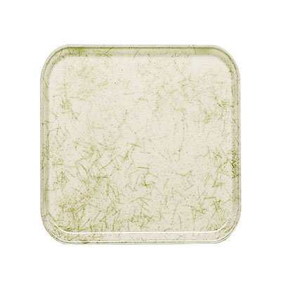 Cambro 1313526 33cm Square Serving Camtray - Galaxy Antique Parchment Gold