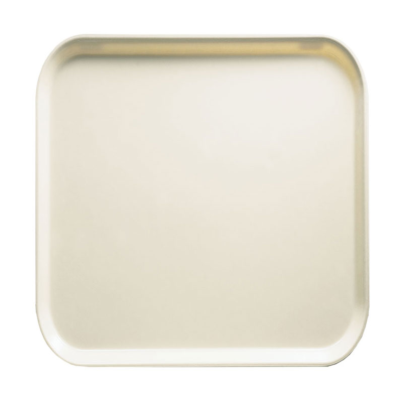 Cambro 1313538 33cm Square Serving Camtray - Cottage White