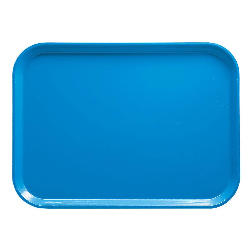 """Cambro 1318105 Rectangular Camtray - 12-5/8x17-3/4"""" Horizon Blue"""