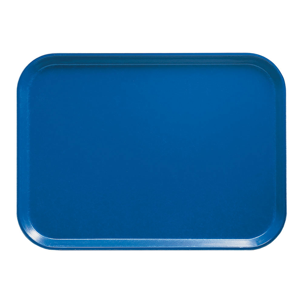 "Cambro 1318123 Rectangular Camtray - 12-5/8x17-3/4"" Amazon Blue"