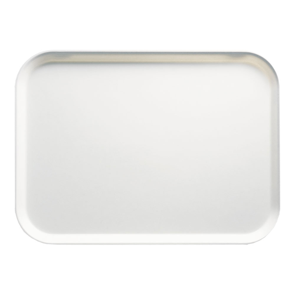 "Cambro 1318148 Rectangular Camtray - 12-5/8x17-3/4"" White"