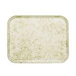 "Cambro 1318526 Rectangular Camtray - 12-5/8x17-3/4"" Galaxy Antique Parchment Gold"