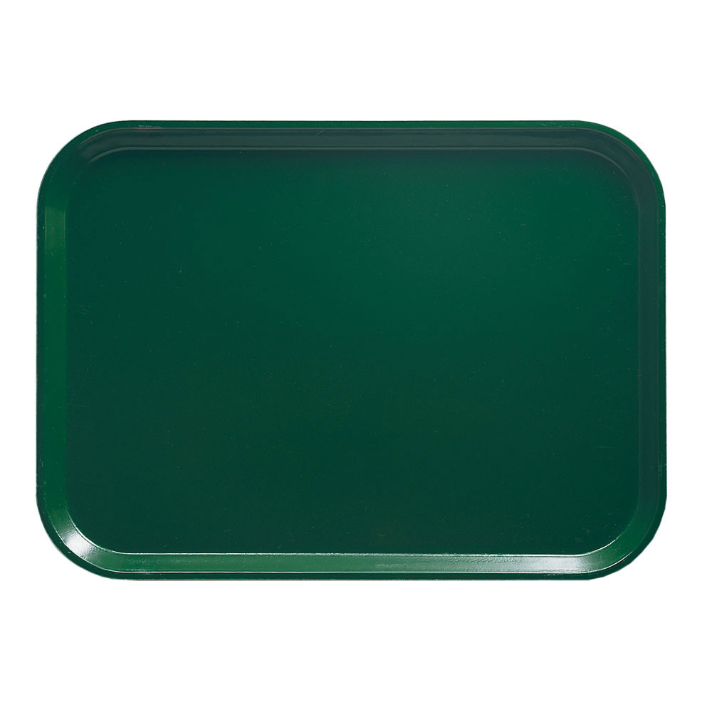 "Cambro 1418119 Rectangular Camtray - 14x18"" Sherwood Green"