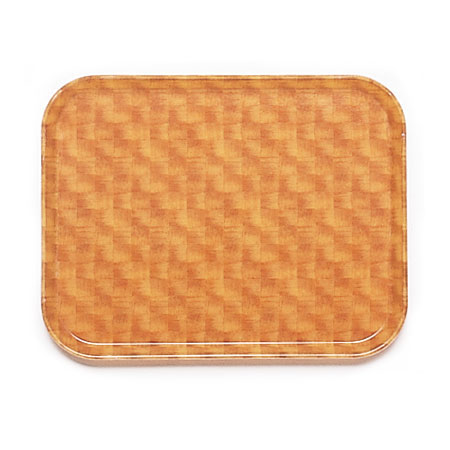 "Cambro 1418302 Rectangular Camtray - 14x18"" Light Basketweave"