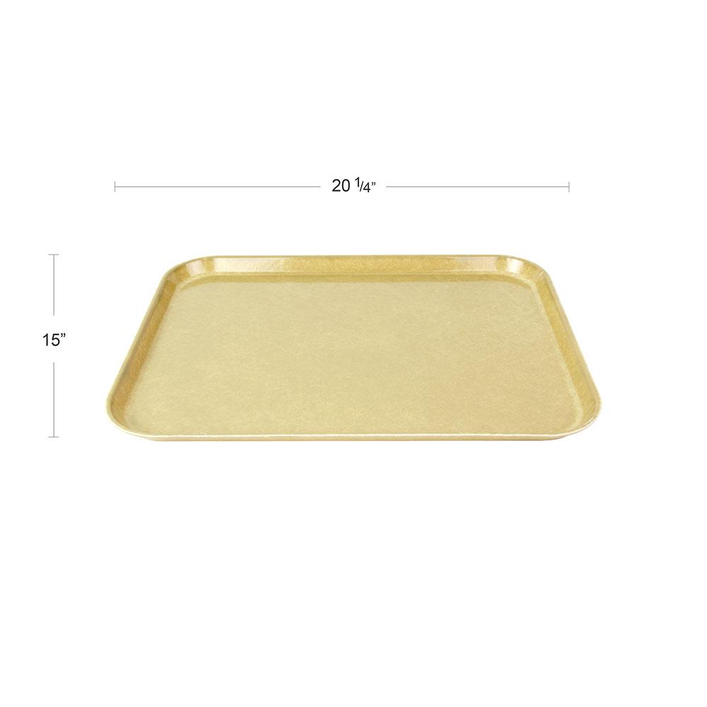"""Cambro 1520104 Rectangular Camtray - 15x20-1/4"""" Desert Tan"""