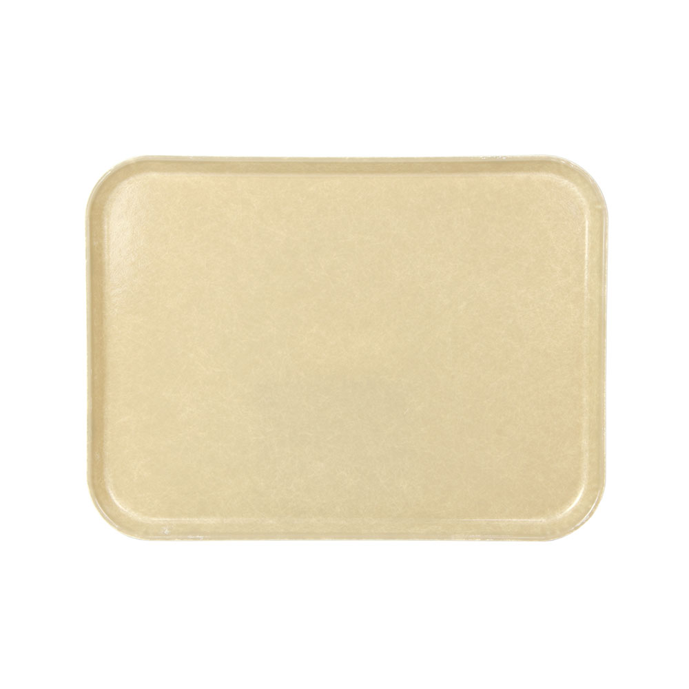 "Cambro 1520104 Rectangular Camtray - 15x20-1/4"" Desert Tan"