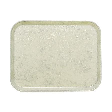 """Cambro 1520531 Rectangular Camtray - 15x20-1/4"""" Galaxy Antique Parchment Silver"""