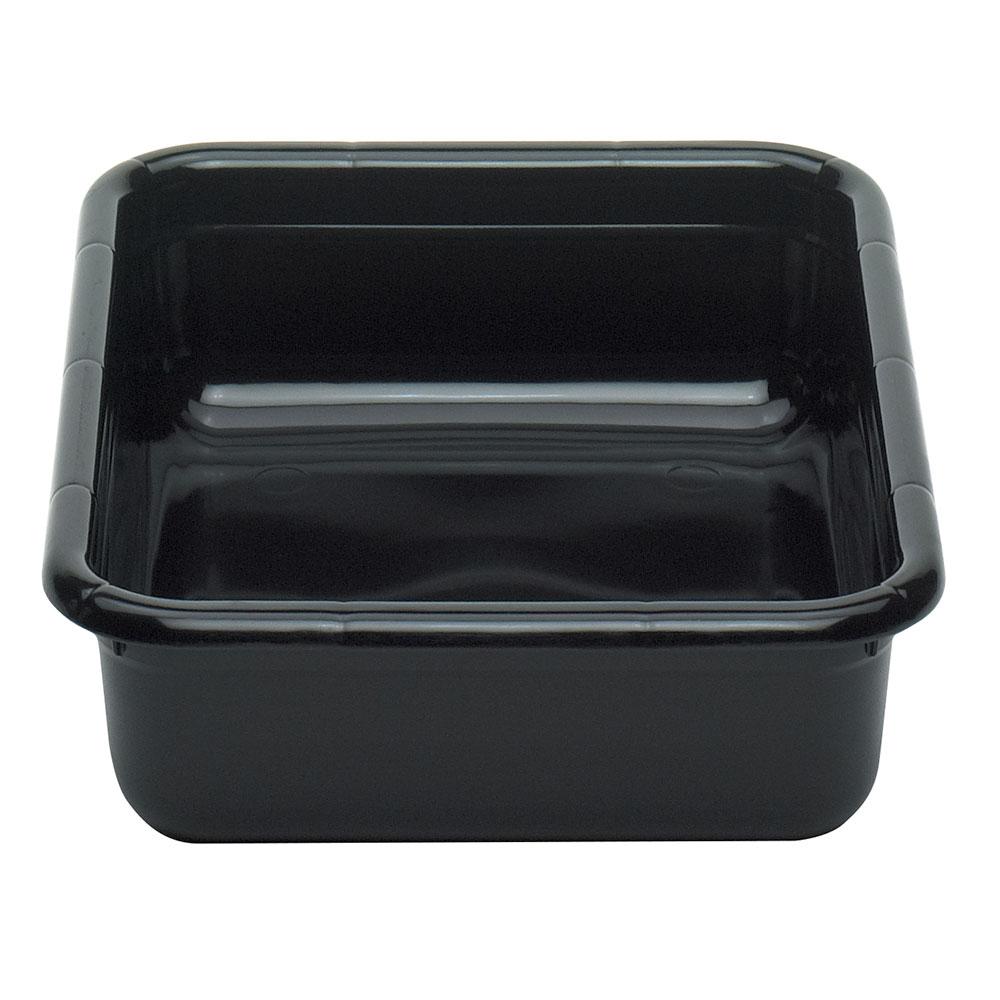 "Cambro 1520CBPF110 Cambox Bus Box - 15-5/16x20x5"" Flat Bottom, Black"