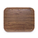 "Cambro 1622304 Rectangular Camtray - 16x22"" Country Oak"