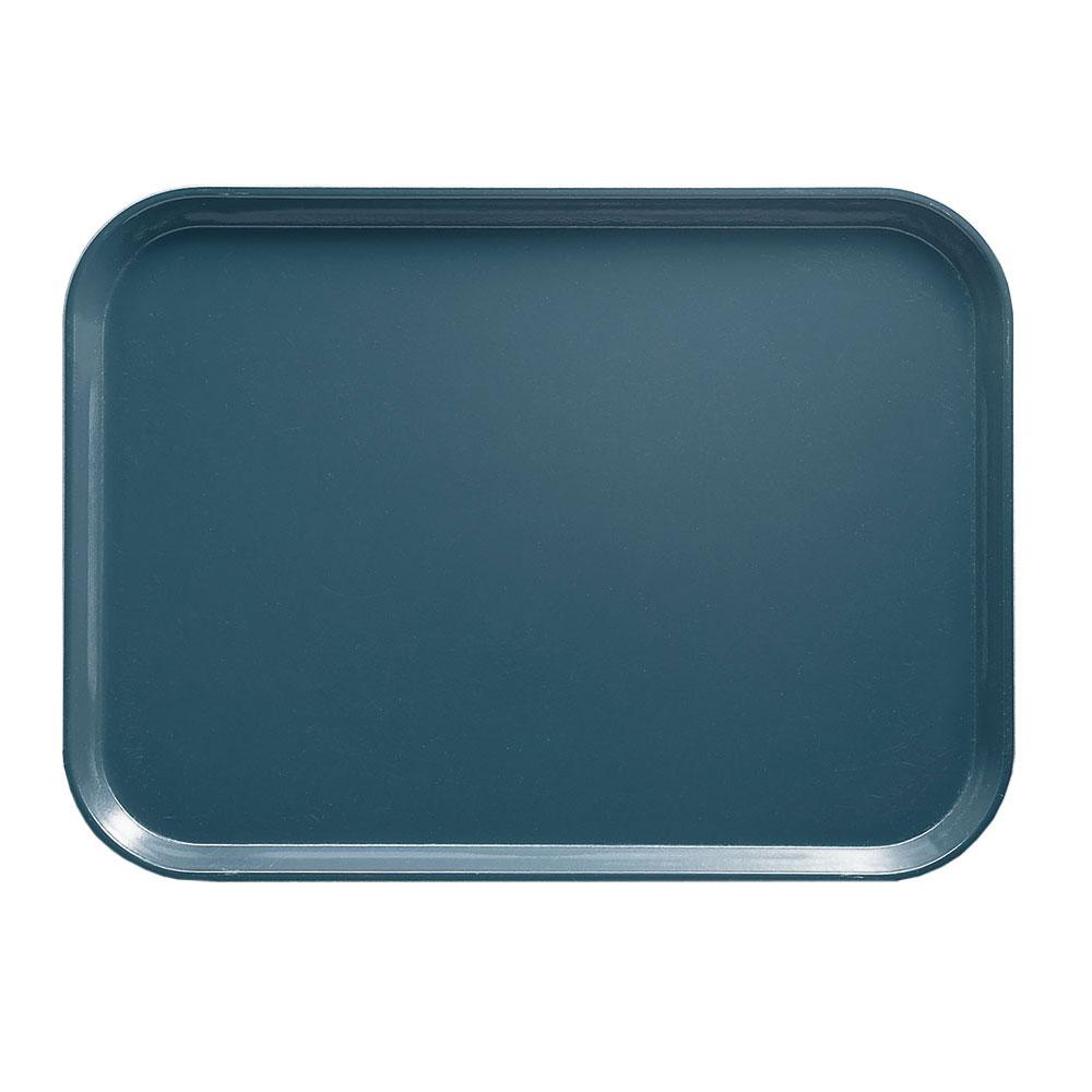 "Cambro 1622401 Rectangular Camtray - 16x22"" Slate Blue"