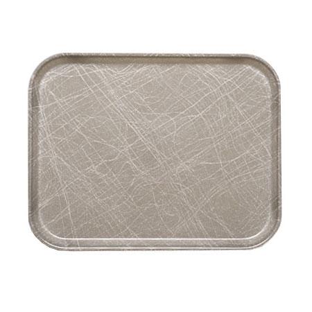 """Cambro 16225215 Rectangular Camtray - 16-1/2x22-1/2"""" Abstract Gray"""