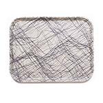 "Cambro 1826277 Rectangular Camtray - 18x25-3/4"" Swirl Gray"
