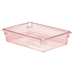 Cambro 18266CW467 8-3/4-gal Camwear Food Storage Container - Safety Red