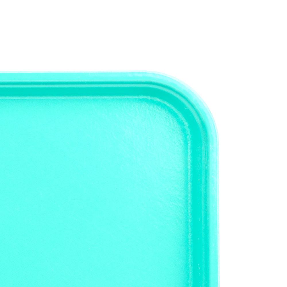 "Cambro 1826MT140 Rectangular Market Display Tray - 17-13/16x25-11/16x11/16"" Green"