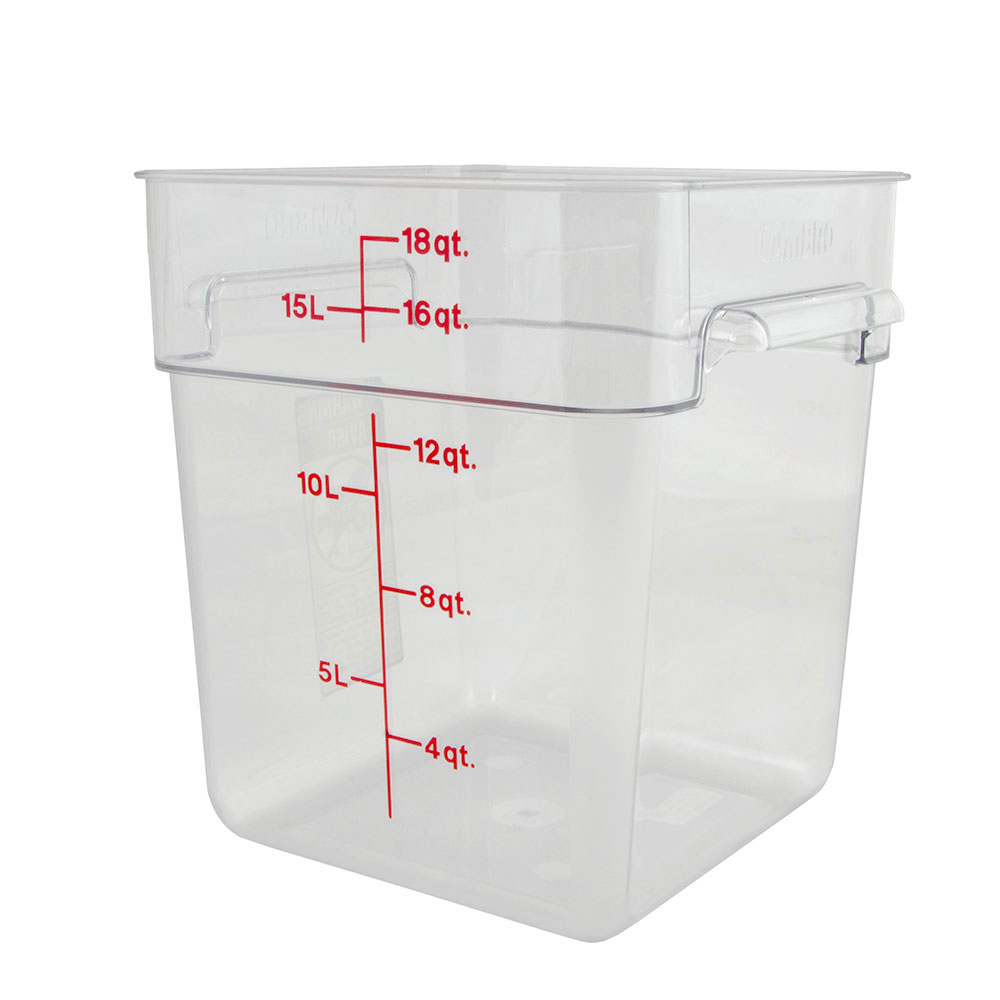 6 Qt Plastic Storage Containers