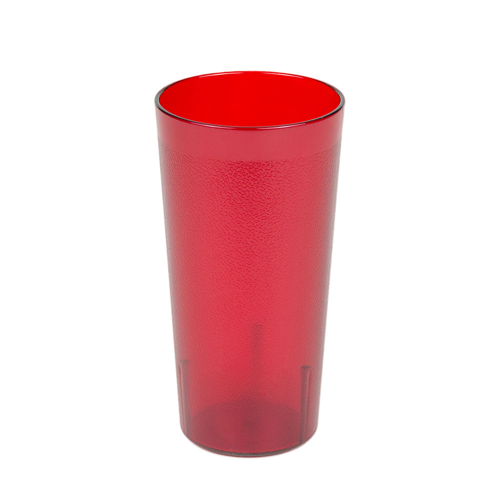 Cambro 2000P2156 22-oz Colorware Tumbler, Ruby Red