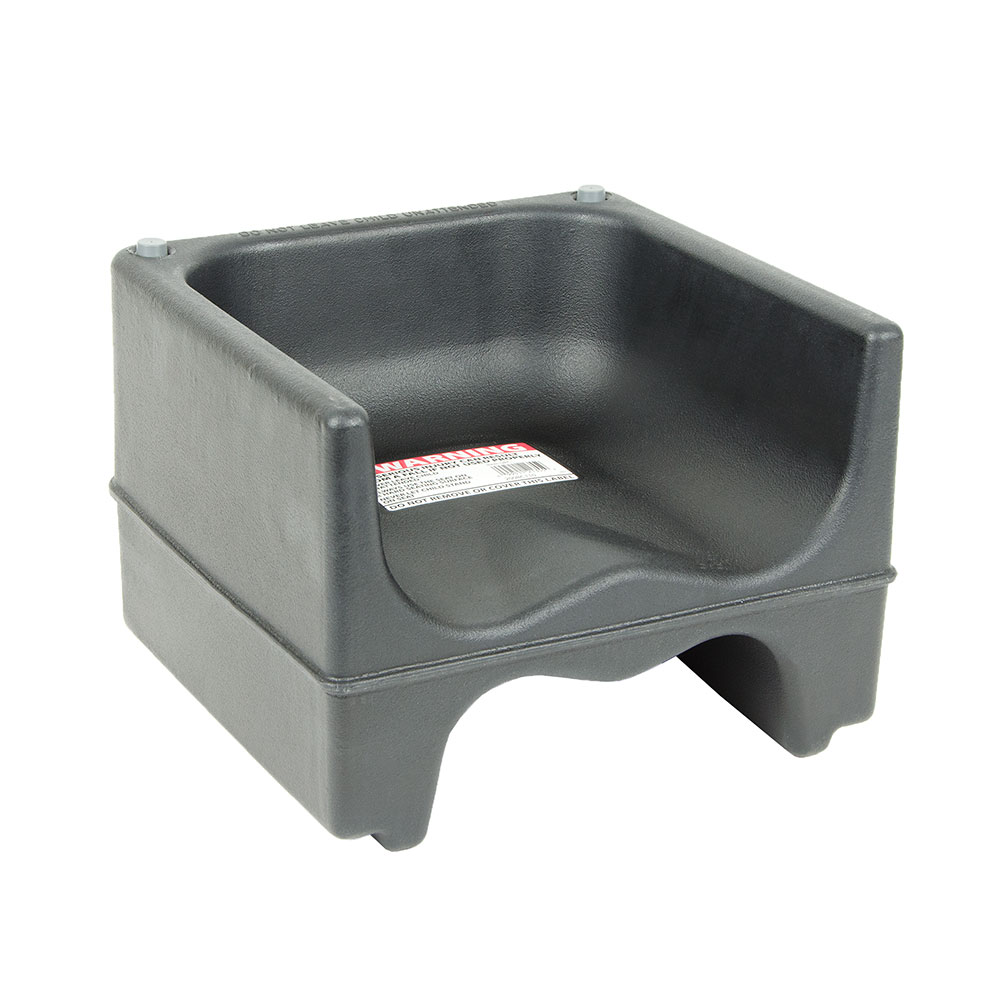 Cambro 200BC110 Dual-Height Booster Seat - Polyethylene, Black