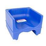 Cambro 200BC1186 Dual-Height Booster Seat - Polyethylene, Navy Blue