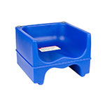 Cambro 200BC186 Dual-Height Booster Seat - Polyethylene, Navy Blue