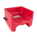 Cambro 200BCS158 Dual-Height Booster Seat with Strap - Hot Red