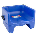 Cambro 200BCS186 Dual-Height Booster Seat with Strap - Navy Blue